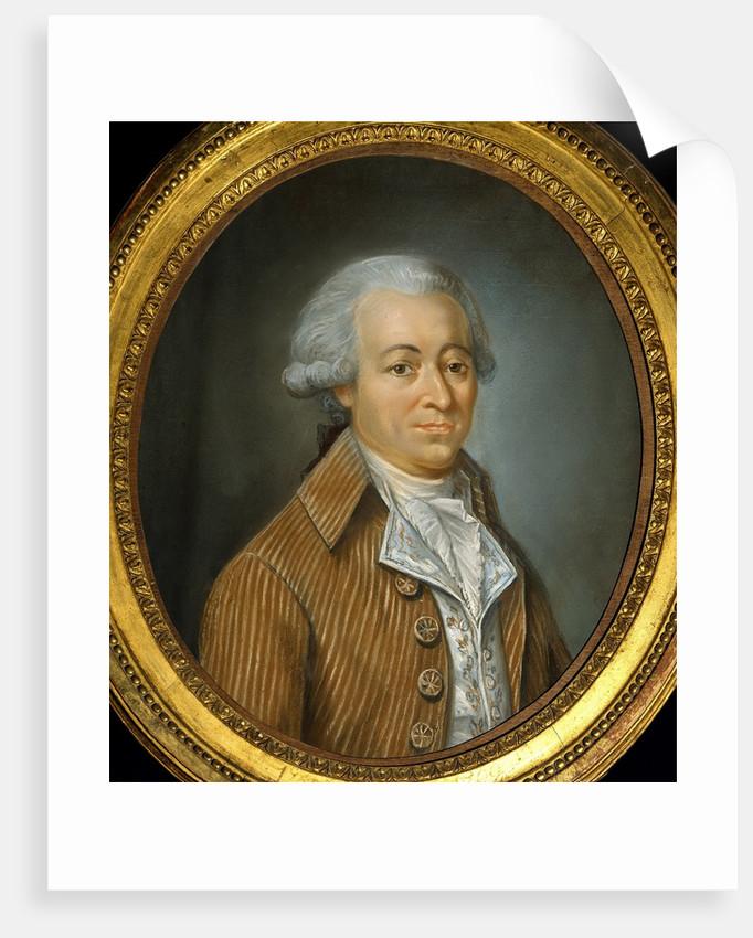 Portrait of Francois Buzot by Jean-Francois Garneray