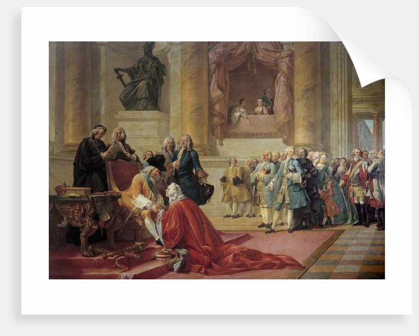 Antoine-Martin Chaumont de La Galaiziere made Chancellor of Lorraine by Francois Andre Vincent