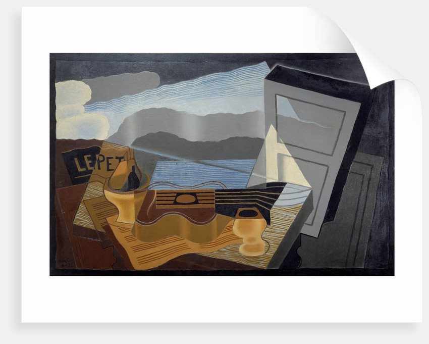 The view across the Bay by Juan Gris