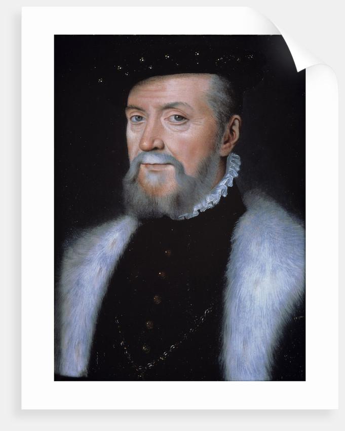 Portrait of Connetable Anne de Montmorency by Corbis