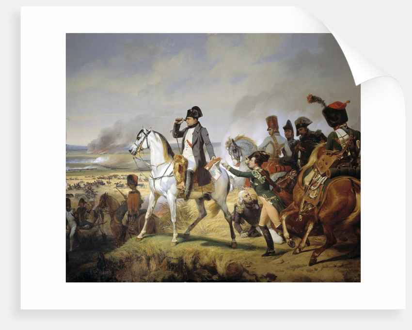 The Battle of Wagram, 6th July 1809 by Horace Vernet