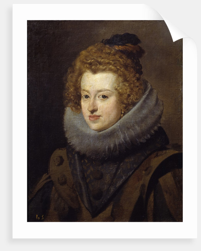 Portrait of Maria Anna of Spain by Diego Velazquez
