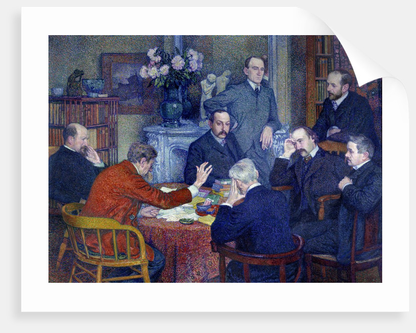The Reading by Theo van Rysselberghe