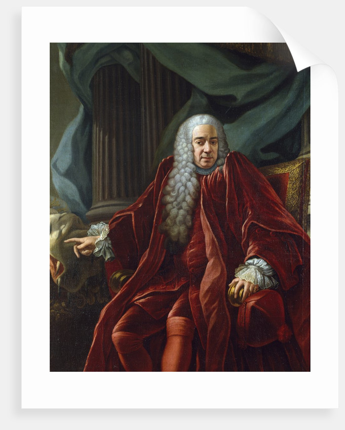 Portrait of Agostino Viale, doge of Genes by Francesco Narice