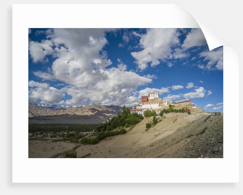 Thikse Monastery by Corbis