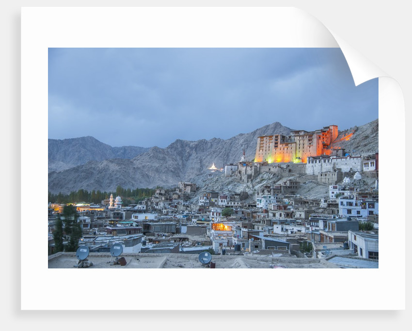 View of the town and the Royal Palace by Corbis
