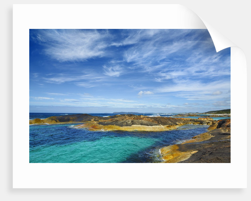 Ocean coast near Greens Pool by Corbis