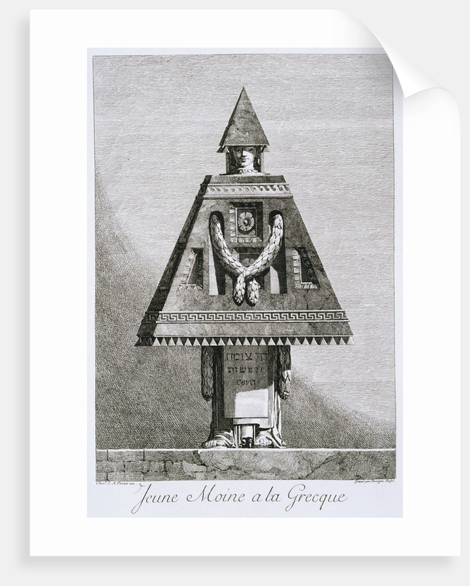 Jeune Moine a la Greque by Ennemond Alexandre Petitot