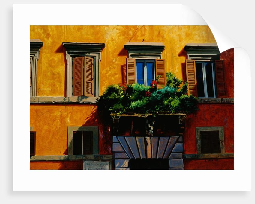 Piazza Farnese by Anne Belov