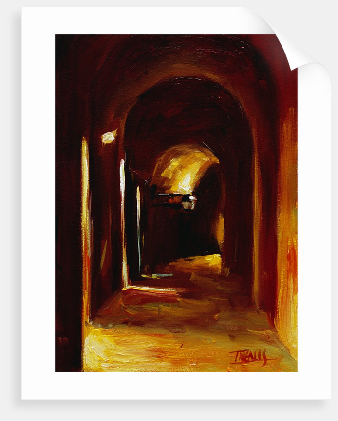 Interior Arches in Perugia by Pam Ingalls