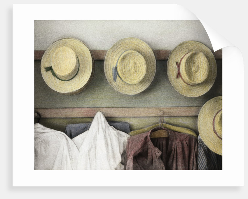 Amish Study #18 by Kim Koza