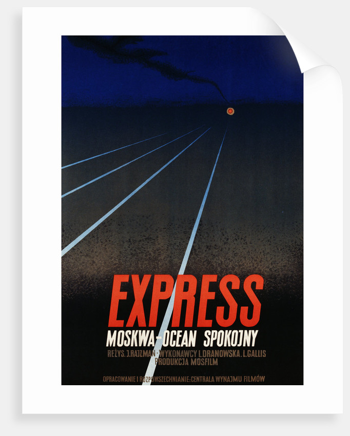 Modern Polish Poster for Express by Corbis