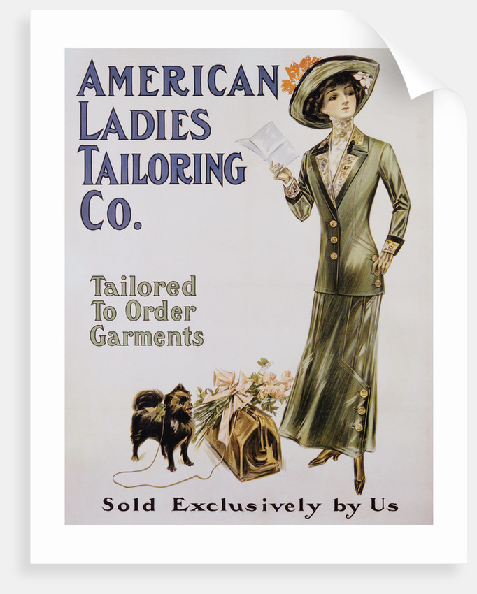 American Ladies Tailoring Co. Poster by Corbis