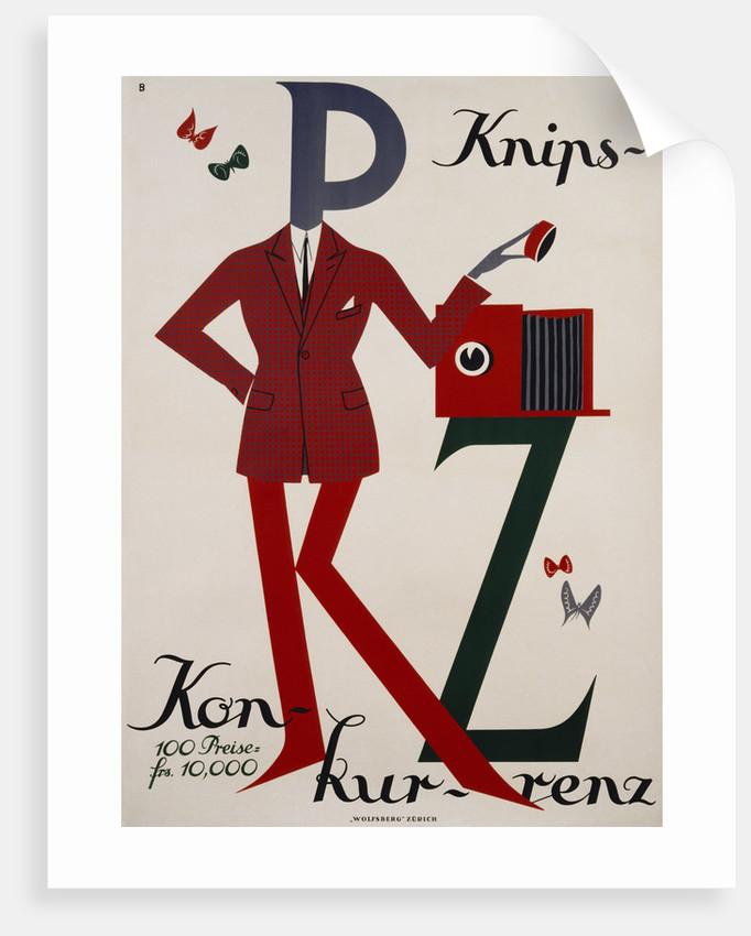 Knips-Kon-Kur-Renz Poster by Corbis