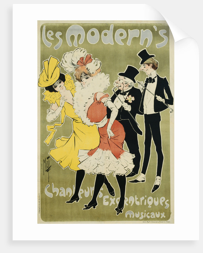 Les Modern's Poster by Misti