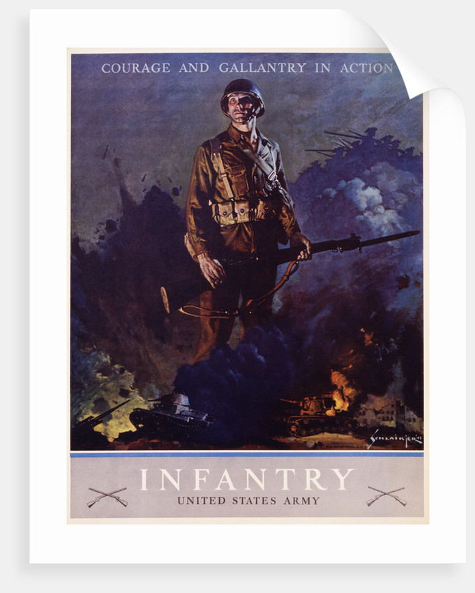 Infantry Recruitment Poster by Jes Schlaikjer