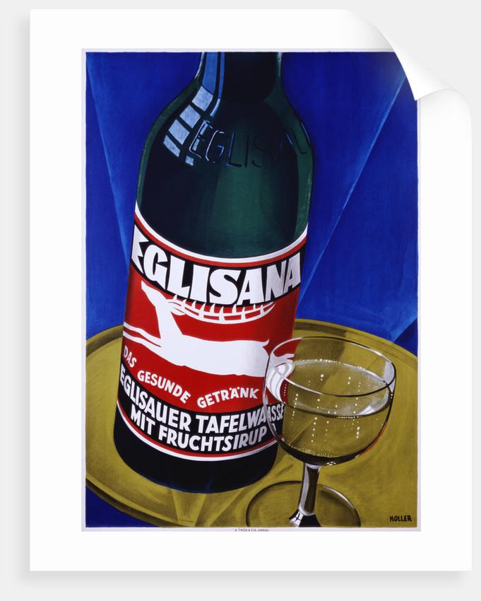 Eglisana Advertising Poster by Koller