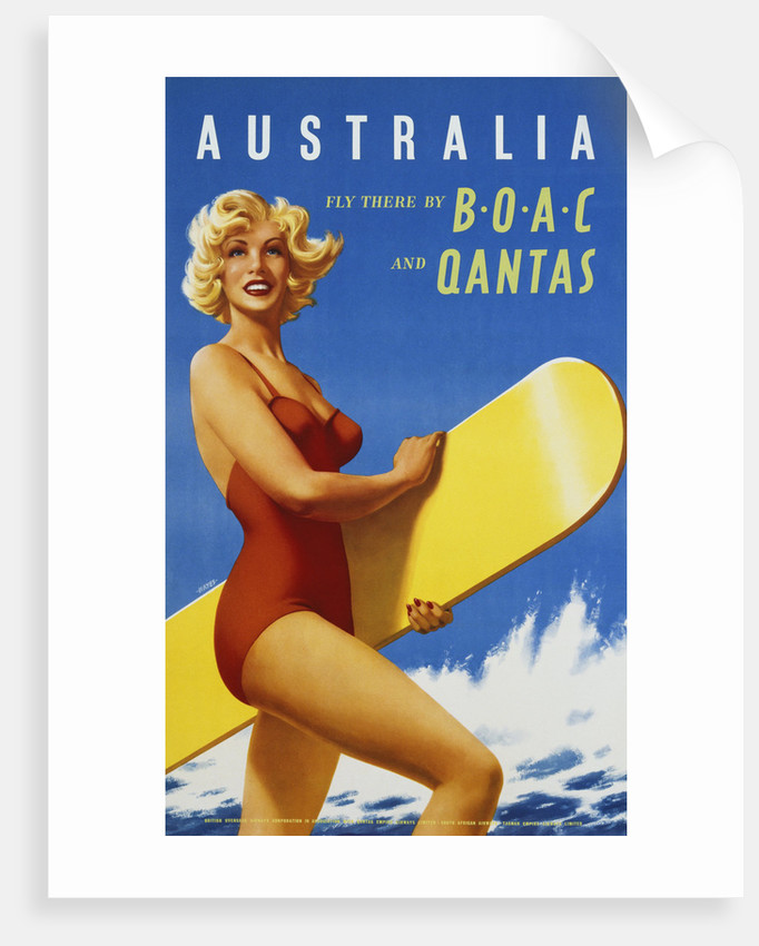 Australia Travel Poster by Corbis