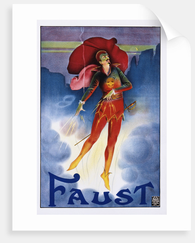 Faust Poster by Corbis