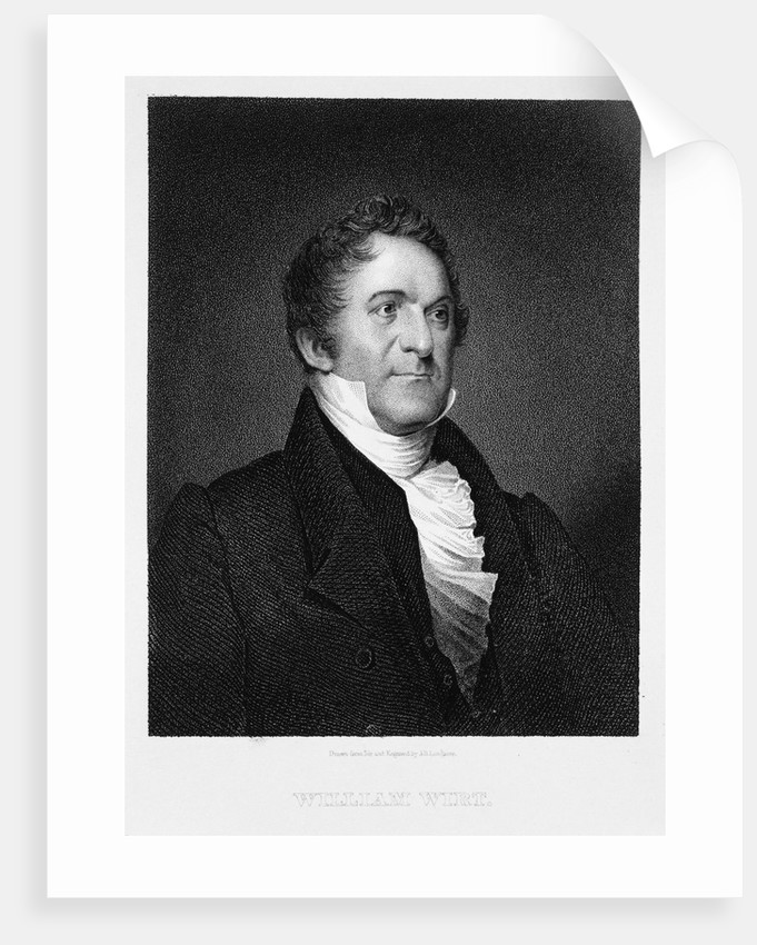 William Wirt by James Barton Longacre