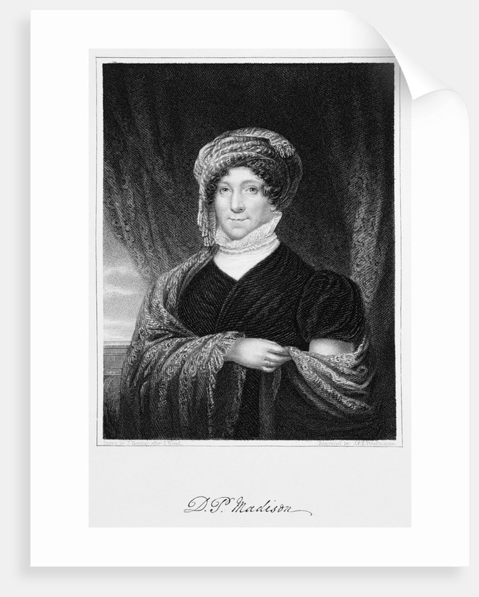 Dolley Madison by John Francis Prud'homme