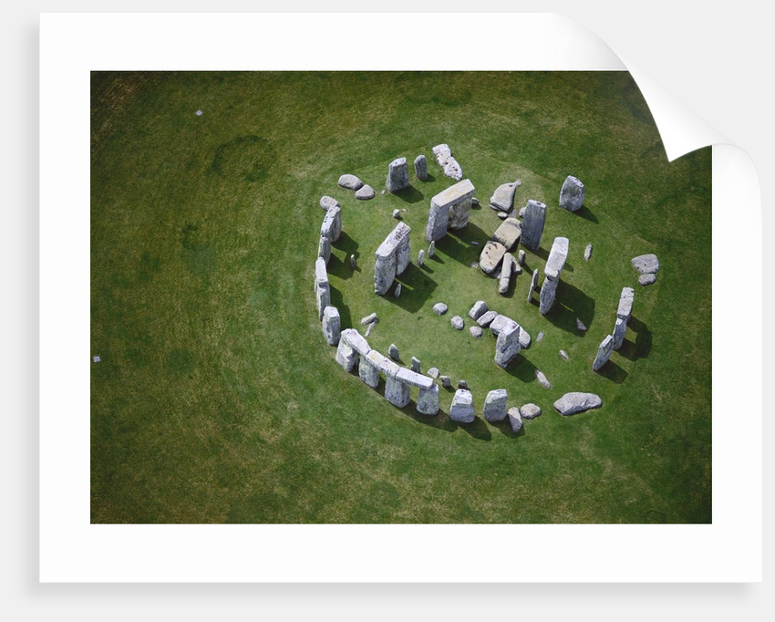 Aerial View of Stonehenge by Corbis