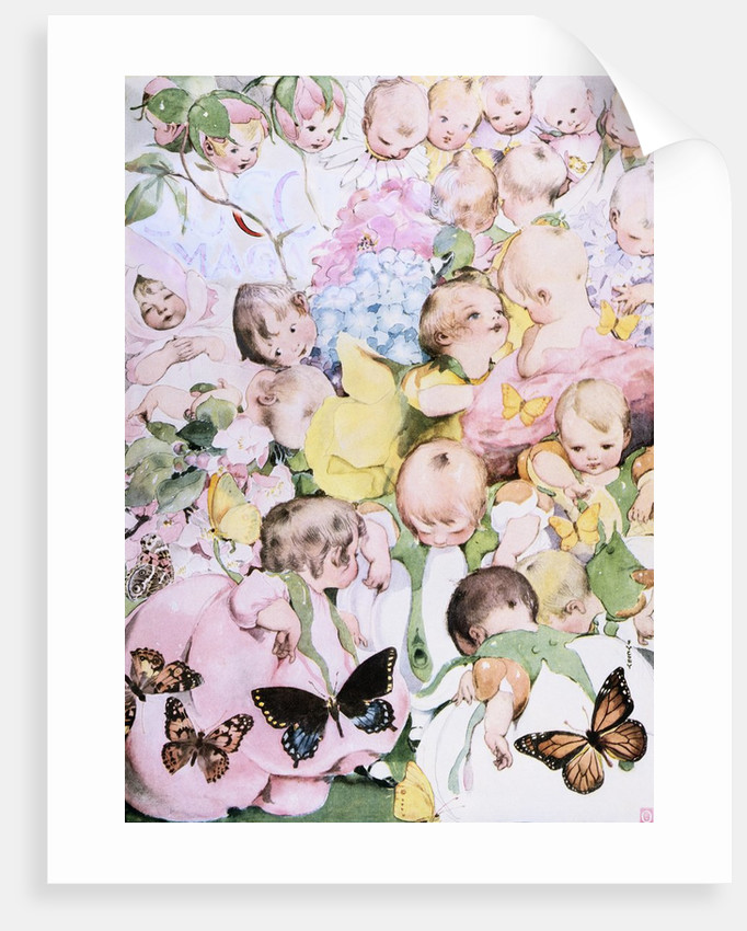 A Garden of Babies by Fanny Cory