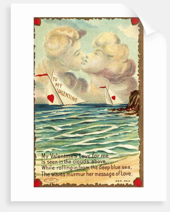 My Valentine's Love for Me Postcard by Corbis