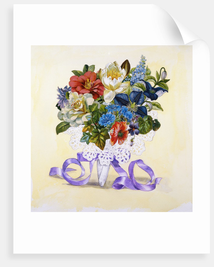 A Bouquet of Flowers from Good Dog Carl by Alexandra Day