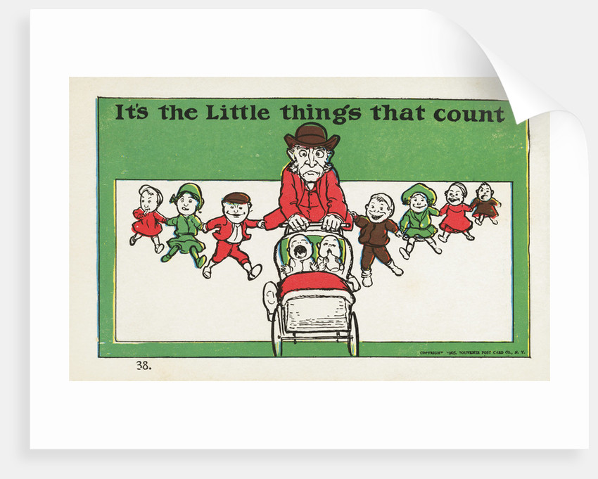 It's the Little Things that Count Postcard by Corbis