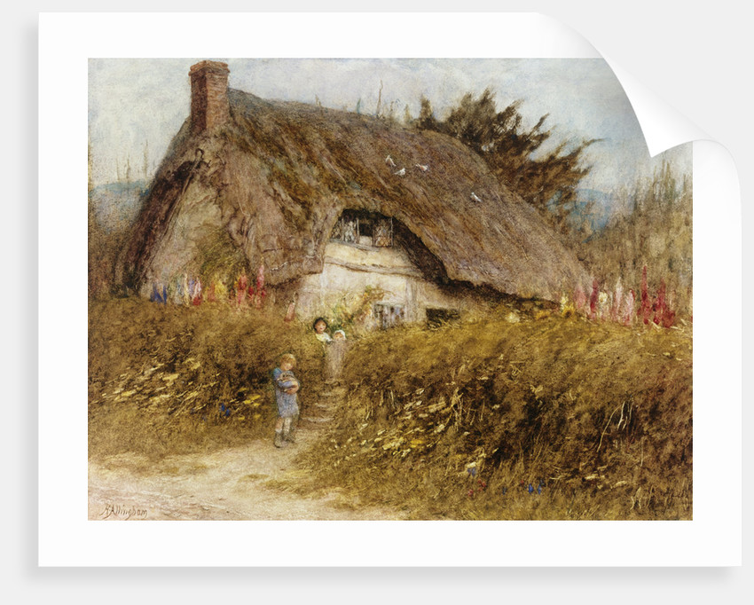 At the Cottage Gate by Helen Allingham