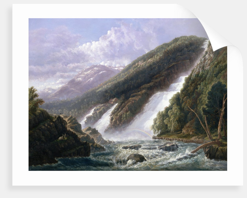 The Russell Falls, Tasmania by John Haughton Forrest