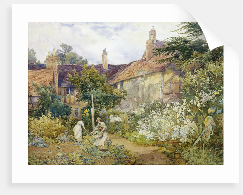 A Garden at Warwick by George Hodgson