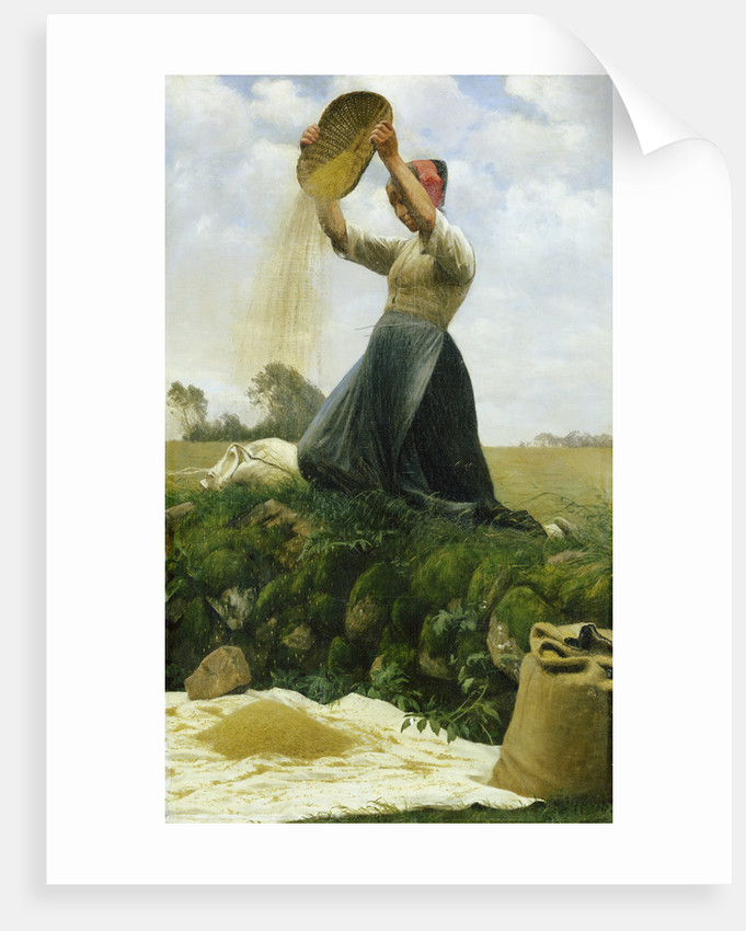 Winnowing the Grain by Hans Brasen