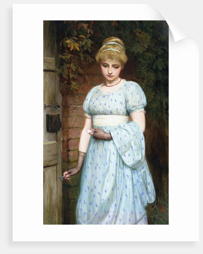 At the Garden Gate by Charles Sillen Lidderdale