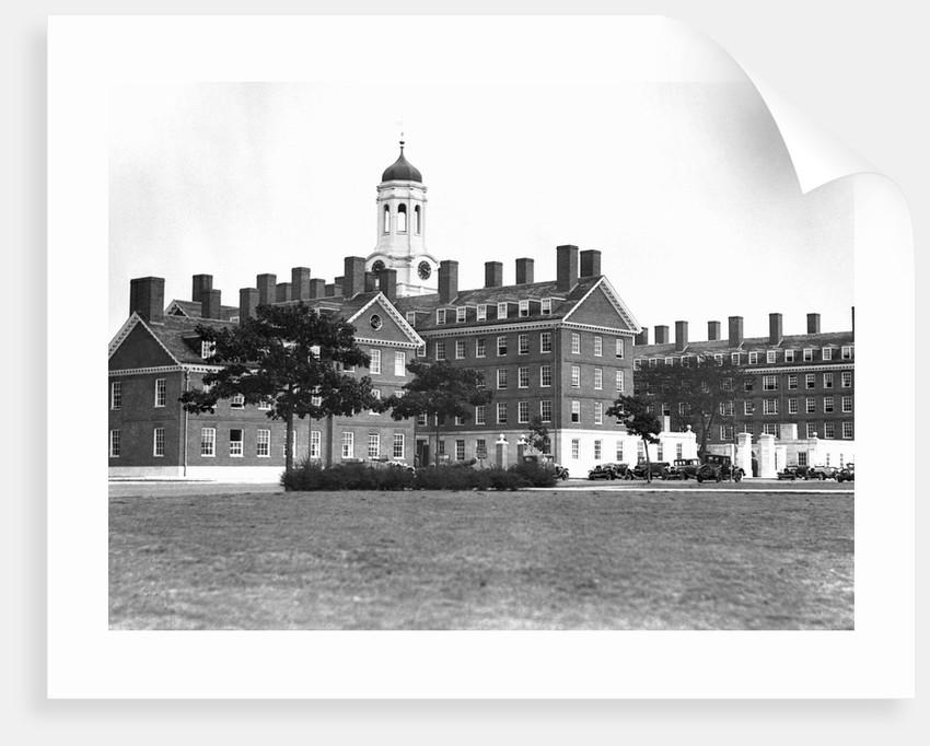 Dormitories at Harvard University by Corbis