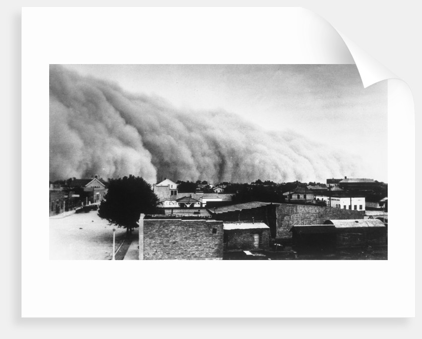 A Dust Storms Hit Southwest Bread Basket by Corbis