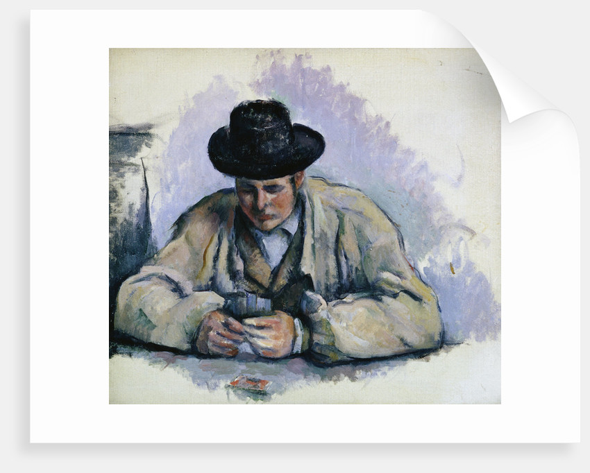 Study for The Cardplayers by Paul Cezanne