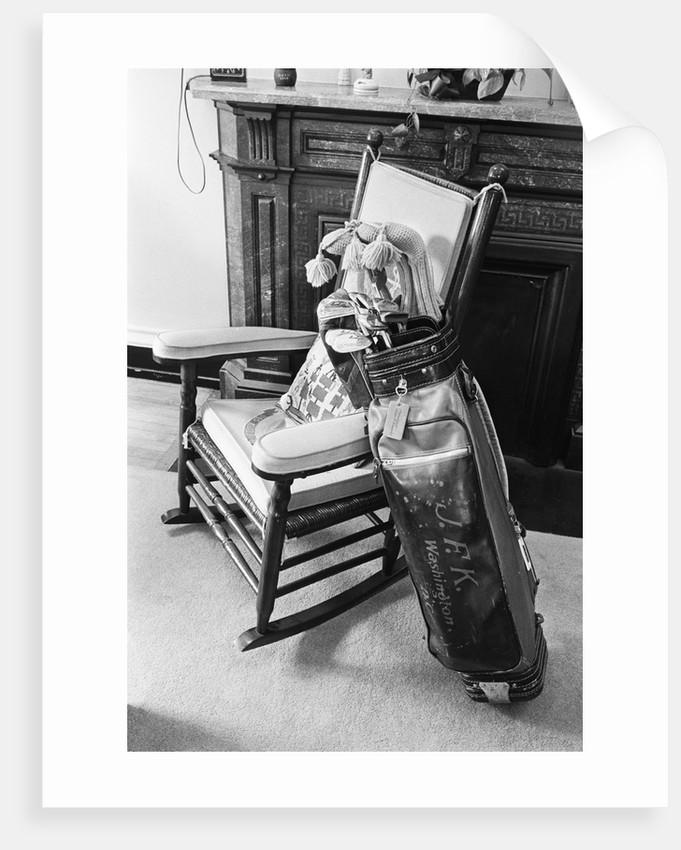John F. Kennedy's Golf Bag by Corbis