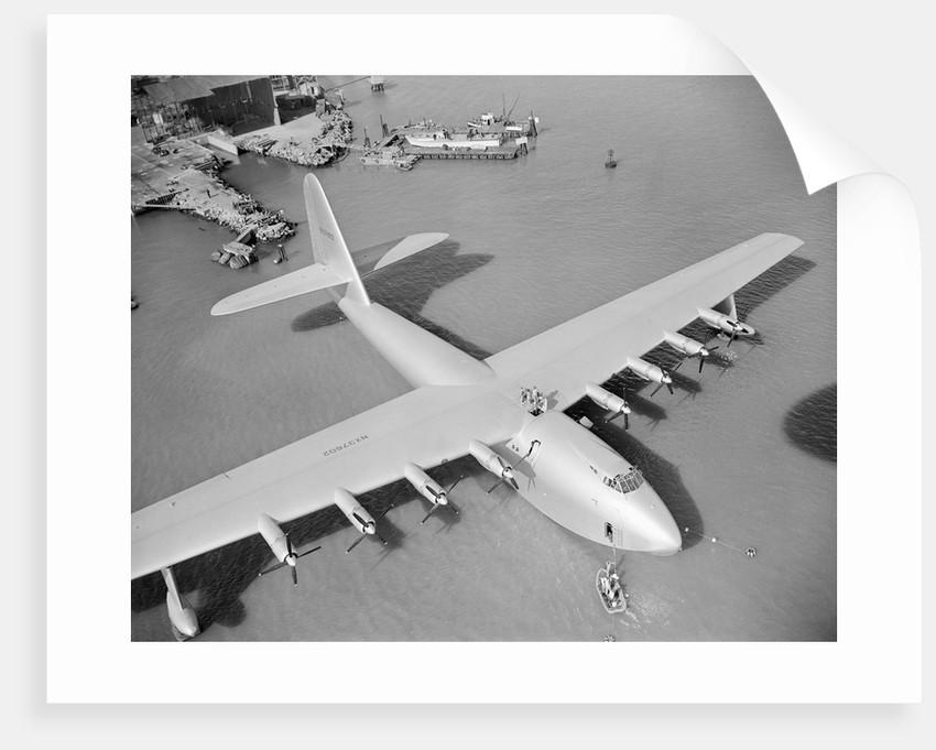 Howard Hughes' Spruce Goose by Corbis