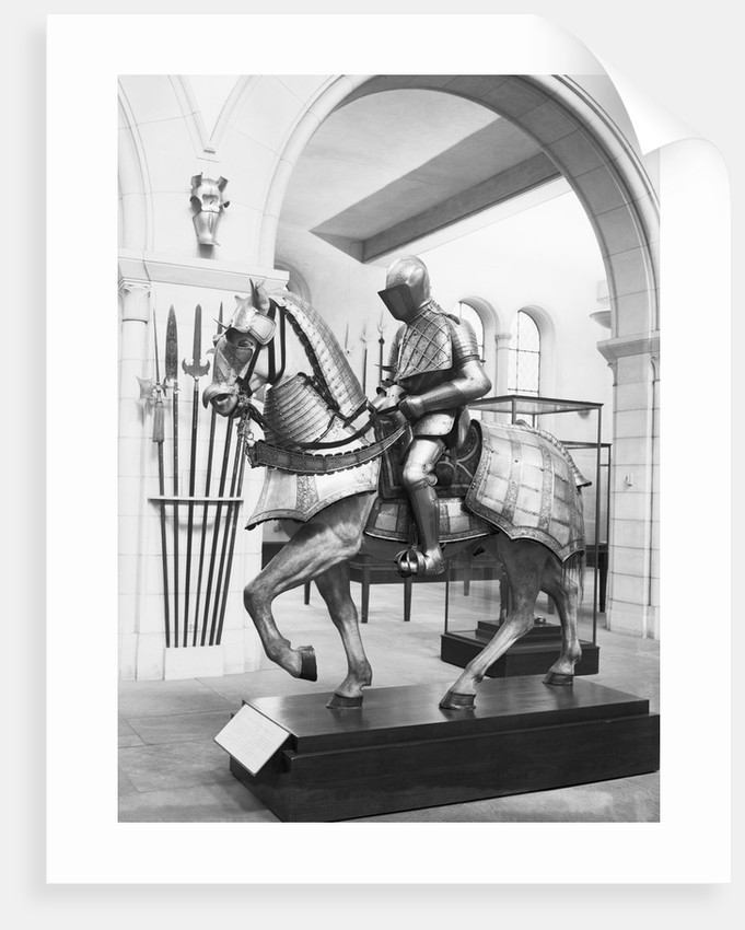 Knight and Equestrian Armor by Corbis