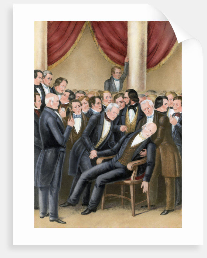 Death of John Quincy Adams by Corbis