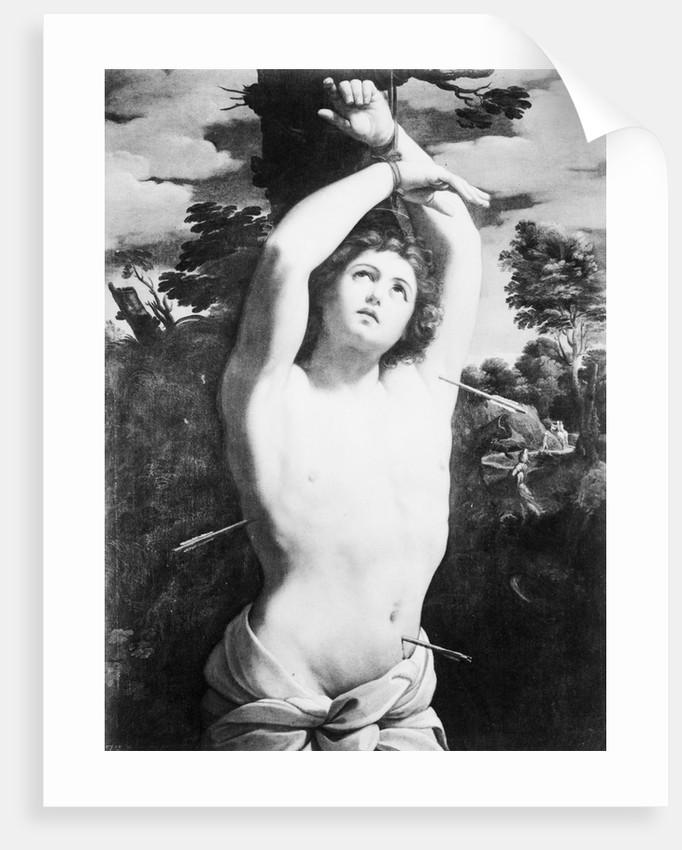 Painting Of St. Sebastien by Corbis
