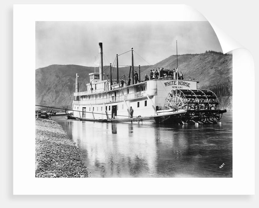Klondike Goldrush; Steamboat by Corbis