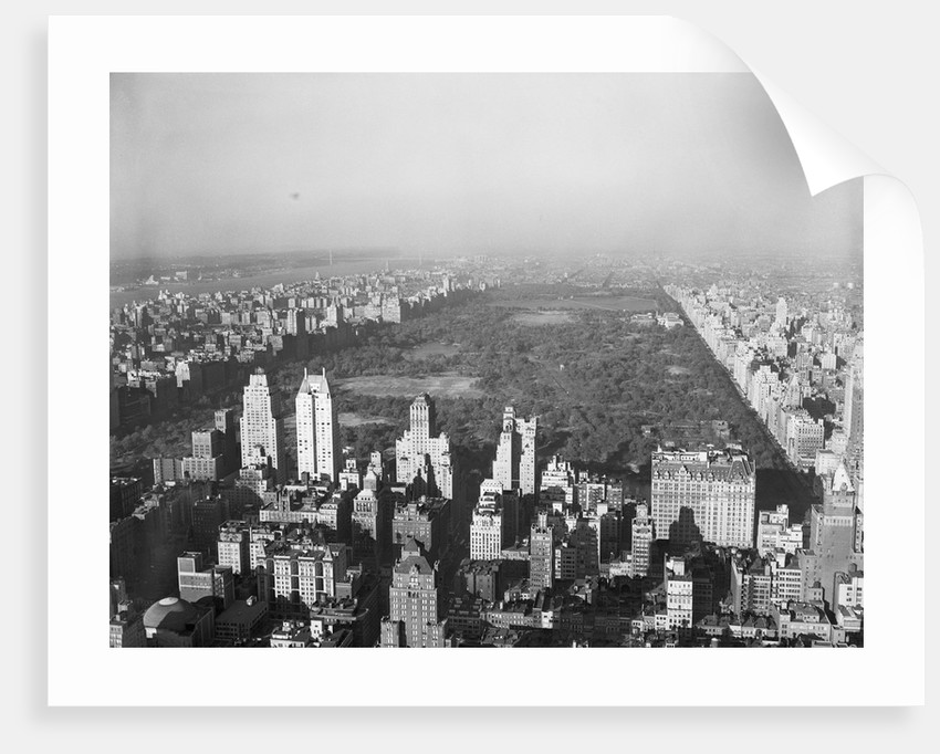 Aerial View of Central Park by Corbis