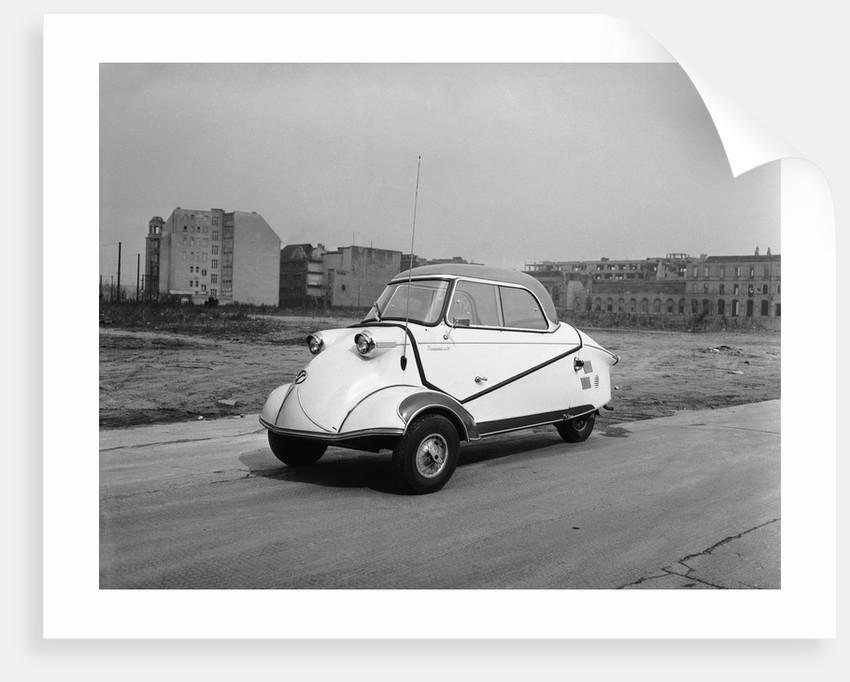 Messerscmitt Scooter Ca. 1960 by Corbis