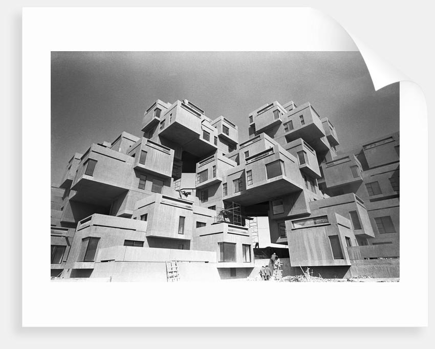 Habitat 67 Apartments by Corbis