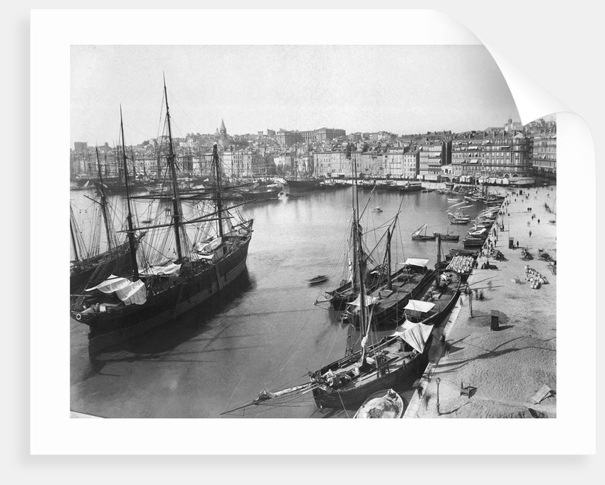 Old Port And Wharf Of Brotherhood by Corbis