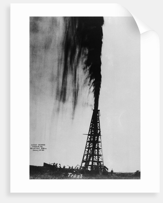 Oil Gushing Over by Corbis
