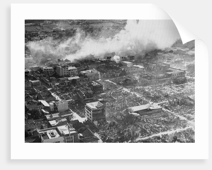 Aerial View of Earthquake Damage by Corbis